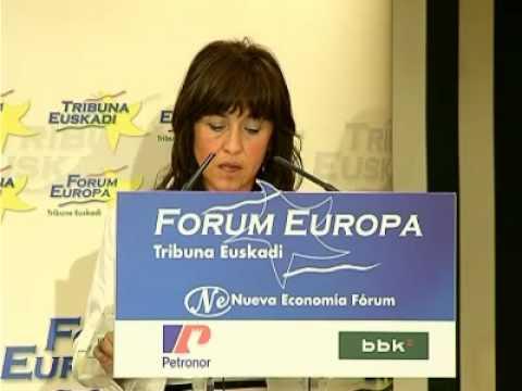 Forum Europa Tribuna Euskadi con Julia Madrazo