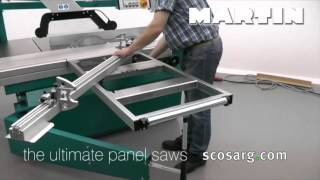 Martin Sliding Table Panel Saws | Scott+Sargeant Woodworking MachinerySargeant Woodworking Machinery