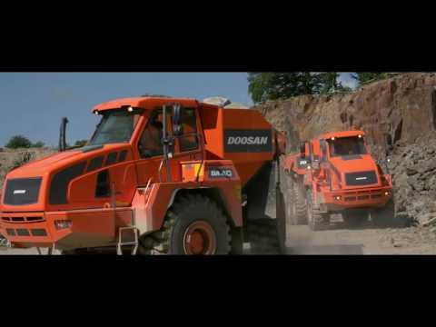 Doosan Articulated Dump Truck Features FAMILY | Doosan Equipment Europe