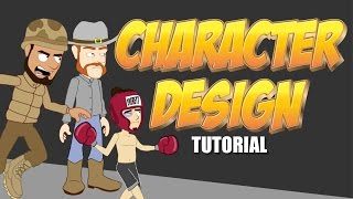 How to Design a character in Anime Studio Pro - MOHO Pro