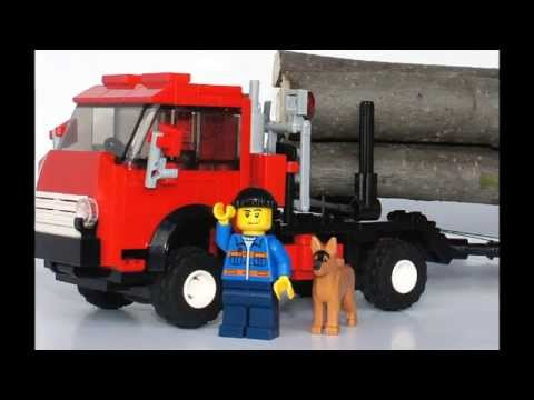 Renault Magnum AE-520 (Integral), Lego-City format - YouTube