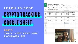 How to Code Google Sheets to Track Cryptocurrencies