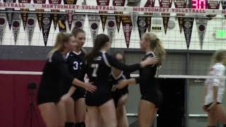 VIDEO: Volleyball- Analy vs Montgomery 10-16-18