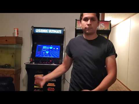 Legends Ultimate Arcade-Playing Ps1/nes Game On Arcade