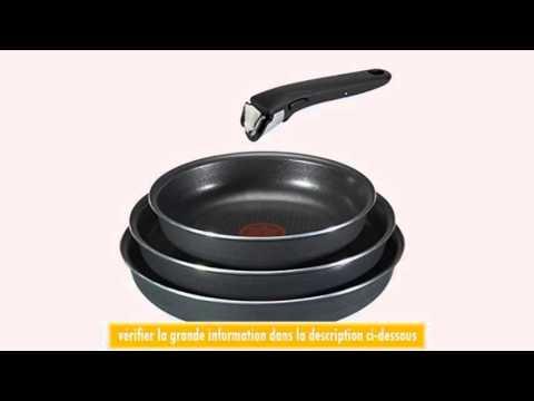 tefal l0289602 ingenio basic 4 batterie de cuisine lot de 3 poles