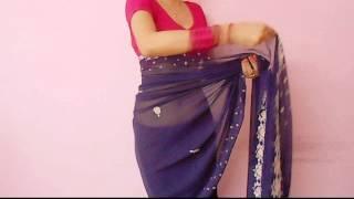 Video Saree Video-How To Wear A Sari/Saree Wraping Video Tutorial For Beginners/Saree Drape download MP3, 3GP, MP4, WEBM, AVI, FLV Mei 2018