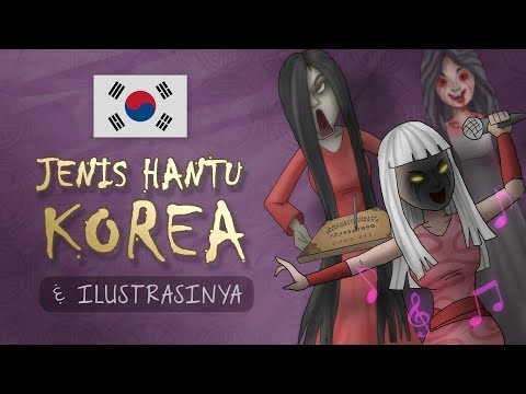 Top Famous Korean Ghot Ilustrated | Korean urband legends dan folklore, creepypasta