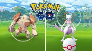 RAIDS LEGENDARIAS DE REGIROCK Y MEWTWO! ¿MI MEJOR MEWTWO? [Pokémon GO-davidpetit]