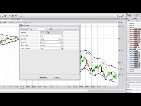 Infinity at trading platform demo