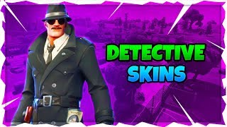 NEW DETECTIVE SKINS ARE OUT! FORTNITE DAILY SHOP UPDATE! FORTNITE BATTLE ROYALE