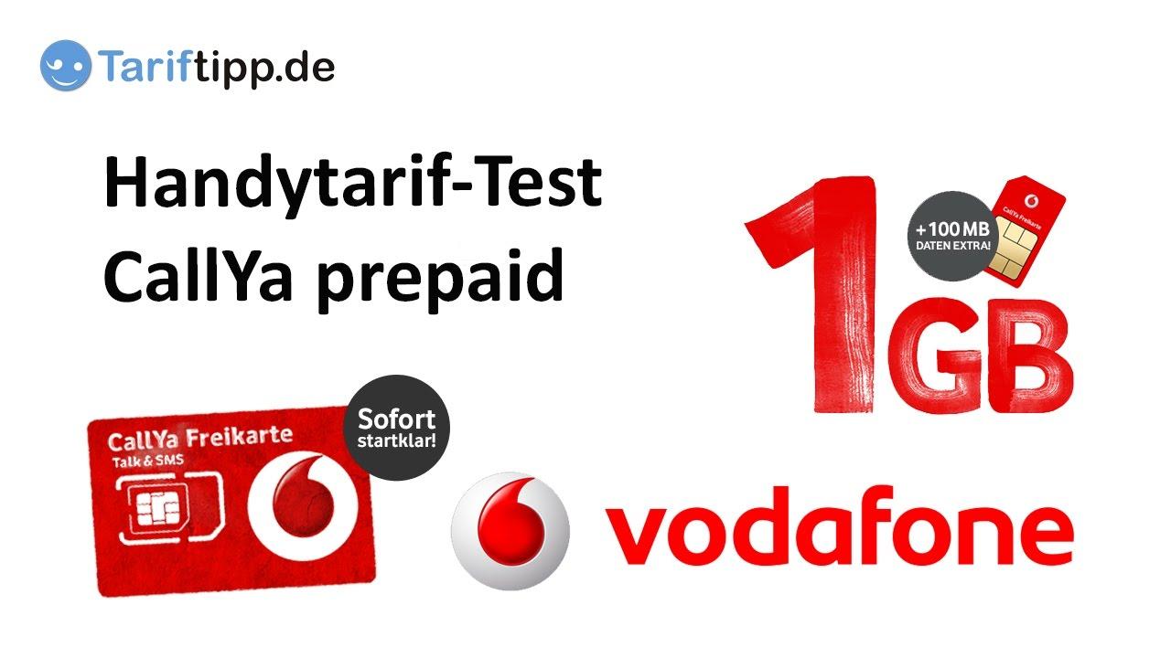Vodafone Prepaid Karte Kostenlos.Test Callya Prepaid Freikarte Von Vodafone