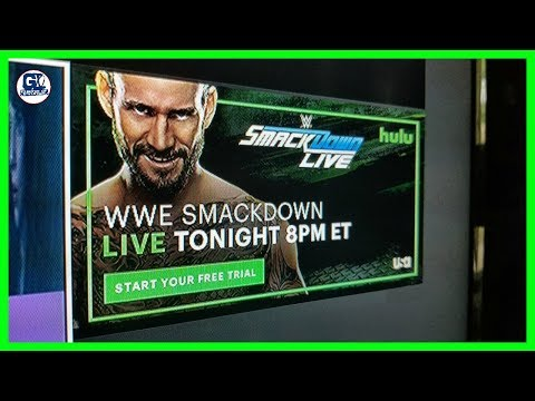 CM Punk Return??, WWE Advertise CM Punk For Smack Down Live