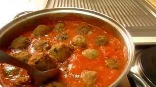Фрикадельки в Томатном Соусе Polpette nel Sugo - Итальянский рецепт