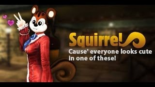 Counter Strike Online: Full Squirrel Costume