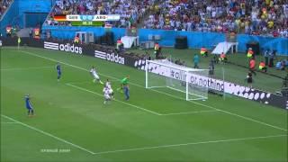 Финал ЧМ по футболу 2014 . Германия 1:0 Аргентина ( Победный гол )