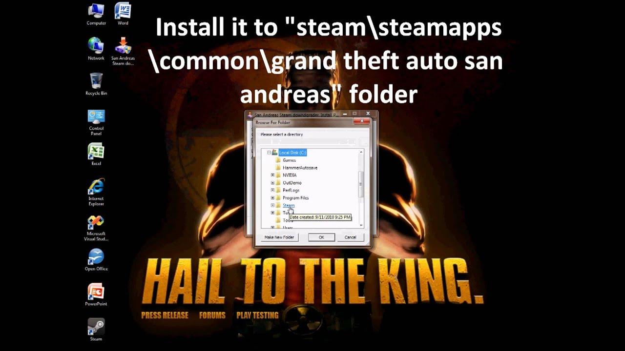 gta san andreas downgrade patch for mac