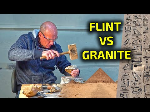 How the Ancient Egyptians Cut Granite with Flint | Experiment