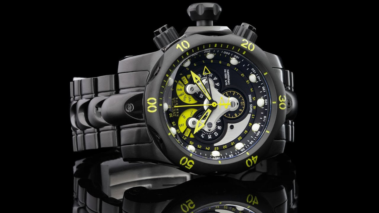 Invicta 14458 Reserve Venom Master Calendar Chronograph