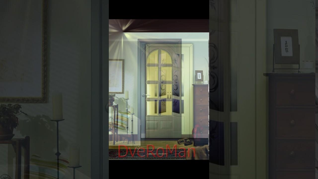 Двери деревянные межкомнатные покрашенные в белый цвет на bronja .