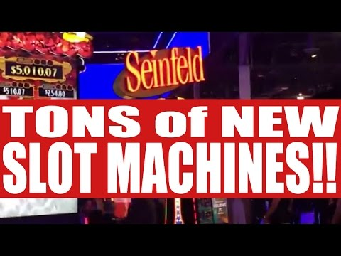 **TONS of NEW SLOT MACHINES** from G2E! ✦...Coming soon to a Casino near you!✦ Sands in Las Vegas!