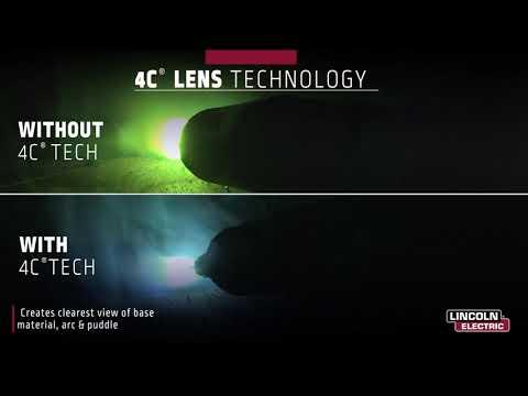 Lincoln Electric Viking 3350 & 2450 Welding Helmets - Comfort. Productivity. 4C Optics. thumbnail