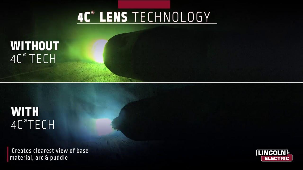 Lincoln Electric Viking 3350 2450 Welding Helmets Comfort Productivity 4c Optics Youtube