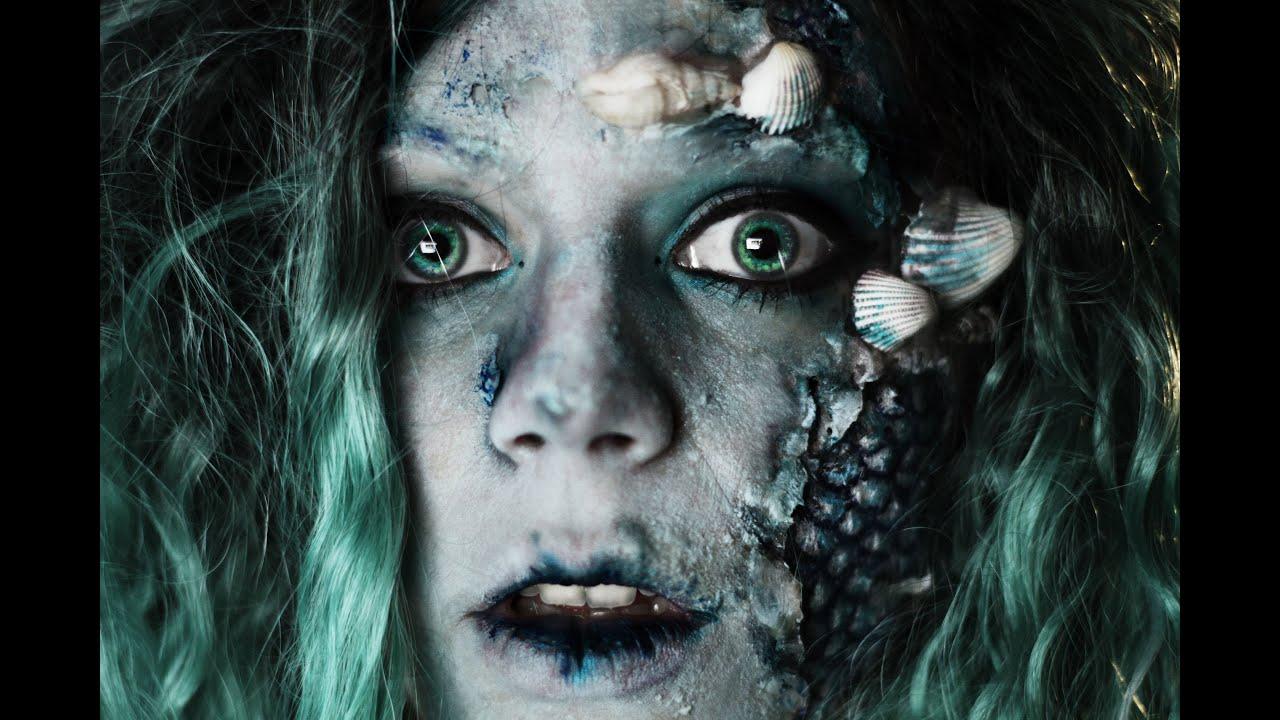 Halloween Makeup Siren Mermaid