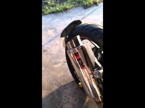 รีวิวจากลูกค้า กับท่อสุตร Buem Project Kawasaki z250 sl  ถอดจุกลดเสียง