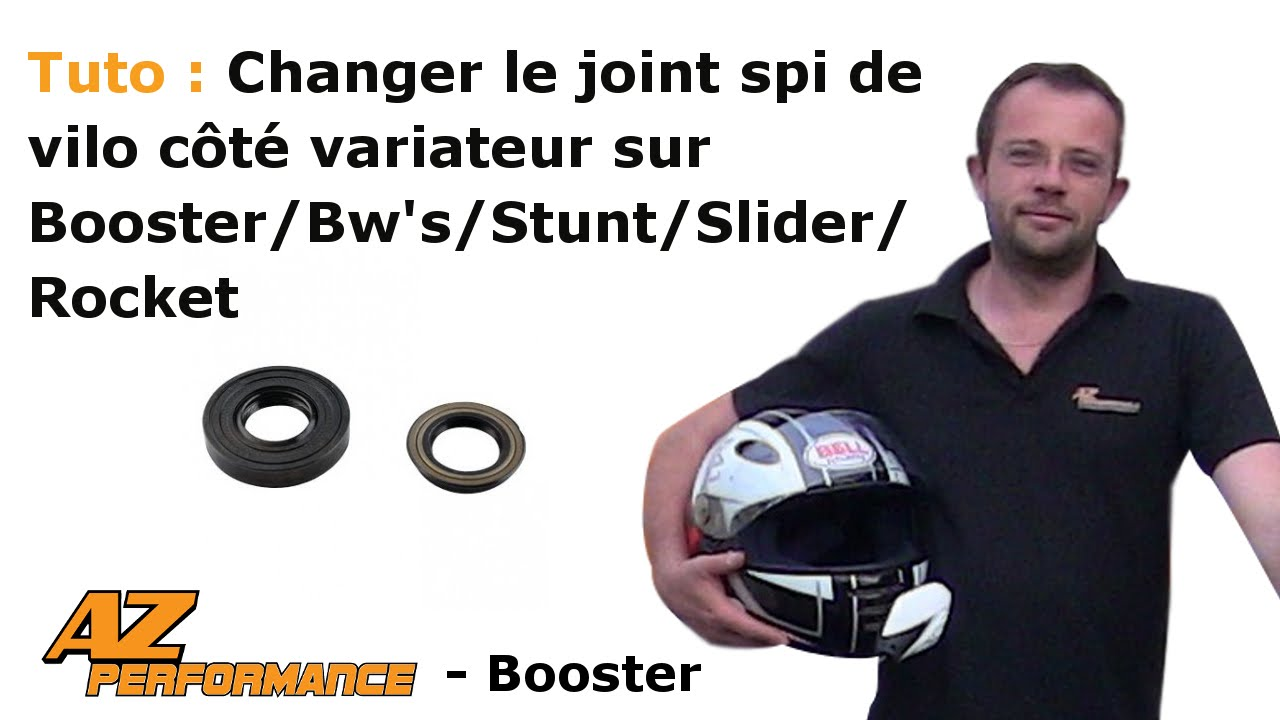 tuto changer le joint spy de vilebrequin cot variateur de son booster stunt rocket. Black Bedroom Furniture Sets. Home Design Ideas