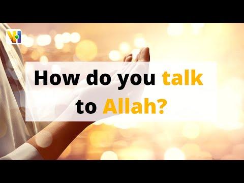 Dua: How do you talk to Allah? l #Shorts