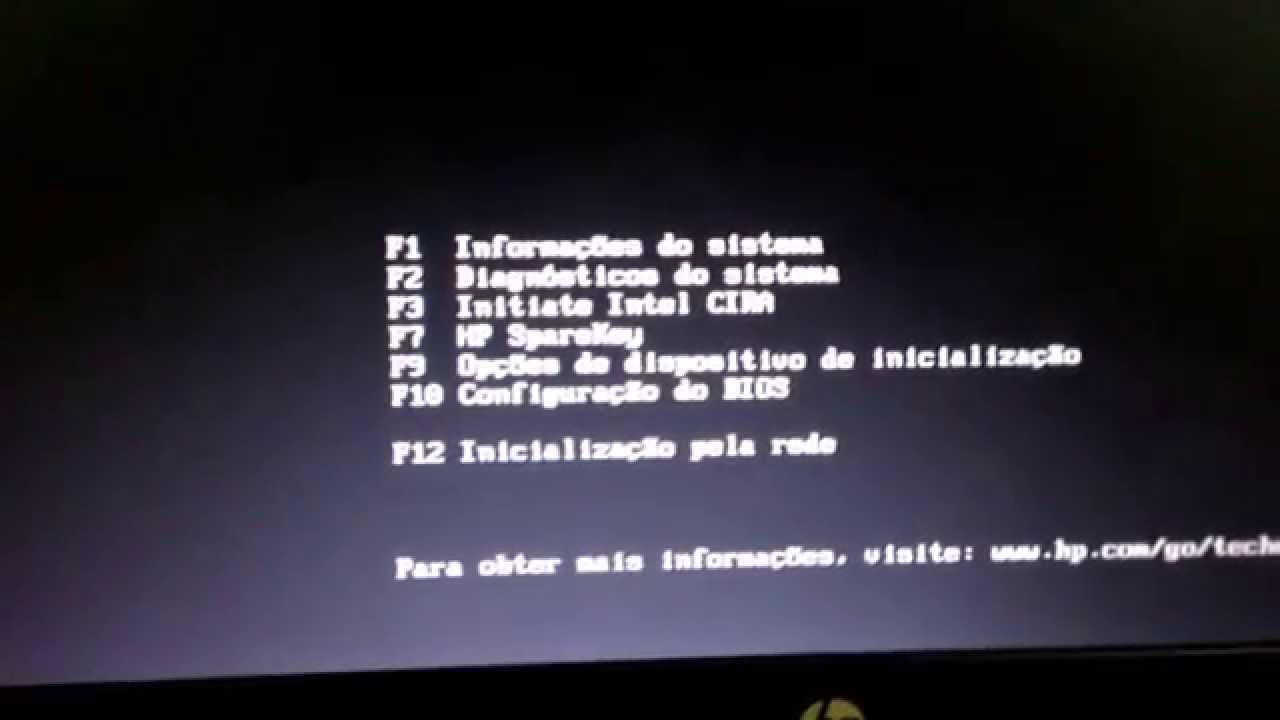 #Como dar BOOT no notebook Hp elitebook 8440p#
