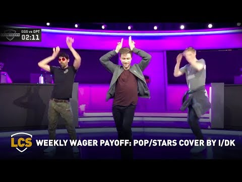 Weekly Wager Payoff: POP/STARS Cover By I/DK