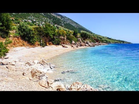beach Žana, Murvica, island Brač, Croatia