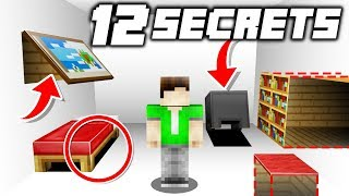 12 Secret Rooms in ONE Minecraft House!
