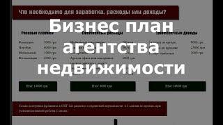 видео Как открыть риэлторское агентство с нуля: Бизнес план агентства недвижимости
