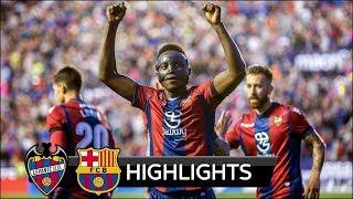 FC BARCELONA VS LEVANTE 4-5  FULL HIGHLIGHTS 13/05/2018