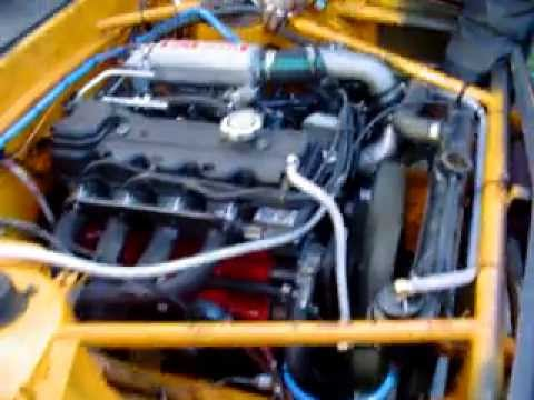 Mitsubishi Triton 4x4 4G54 with 45mm side Webers by STNUCIO
