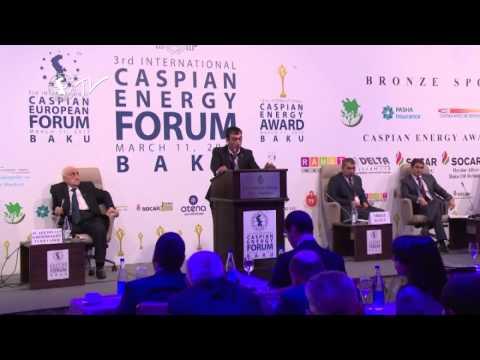 Келвин Уилсон - Caspian Energy Forum - Baku 2015-rus