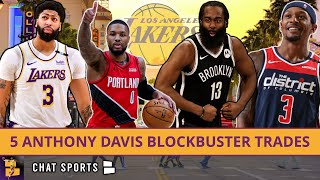Lakers Trade Rumors: 5 Blockbuster Trades Around Anthony Davis Ft. Damian Lillard & Bradley Beal