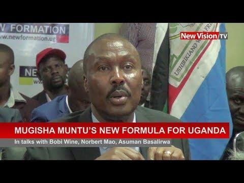 Mugisha Muntu's new formula for Uganda