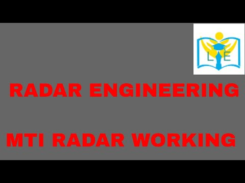 BRIEF EXPLANATION ON MTI RADAR , DELAY LINE CANCELLER, BLIND SPEEDS, TYPES OF MTI RADARS