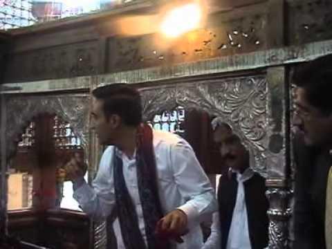 Bilawal Bhutto pays visit to Dargah Lal Shahbaz Qalandar in Sehwan
