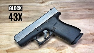 Glock 43X - Is This The New Cool Single Stack EDC?