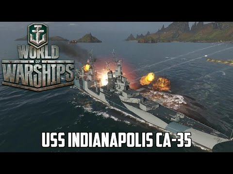 World of Warships - USS Indianapolis CA-35