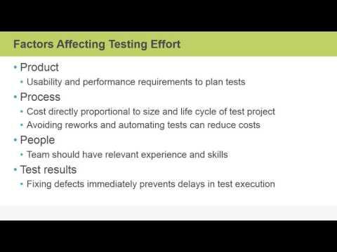 testing based on metrics