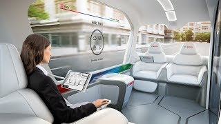 Bosch IoT shuttle at CES 2019