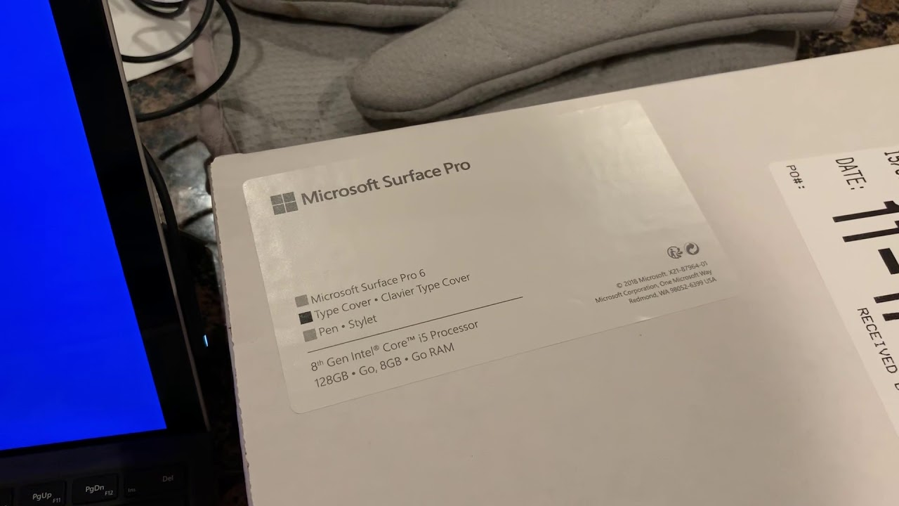 "Costco Microsoft Surface Pro 6 bundle deal $799 stuck ""just a moment"""