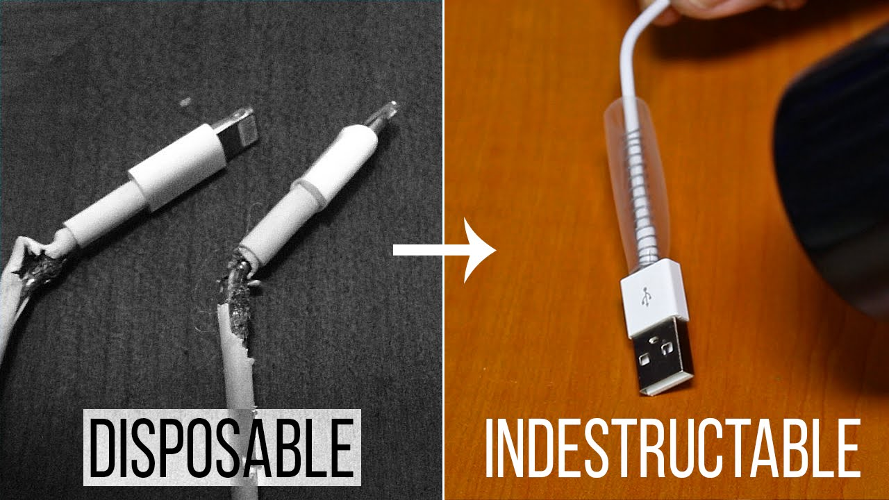 DIY - Make Your USB Phone Cable Last Longer - YouTube