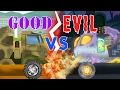 Good VS Evil | Good Army Missile Launcher | Evil Army Missile Launcher | Kids Videos | Battle Video