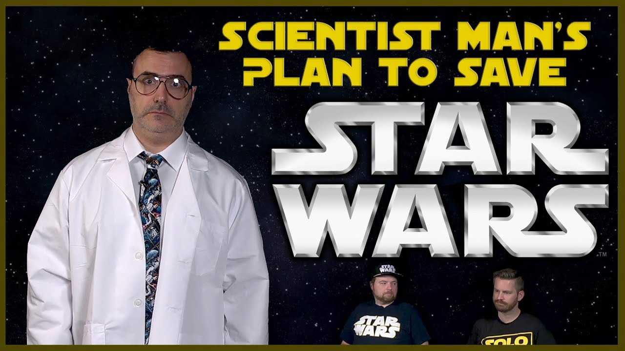 Rian Johnson Red Letter Media.Scientist Man S Plan To Save Star Wars